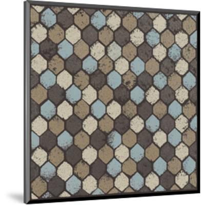 Honeycomb (Blue)-Susan Clickner-Mounted Giclee Print