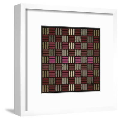 Basketweave Triple Play (Red)-Susan Clickner-Framed Giclee Print