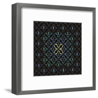 Moroccan Grill (Teal)-Susan Clickner-Framed Giclee Print