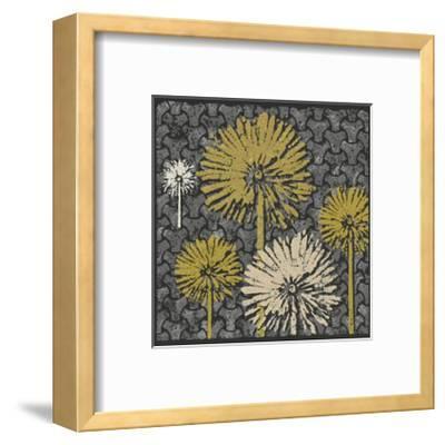 Dandelion on Interwoven Balls (Yellow)-Susan Clickner-Framed Giclee Print