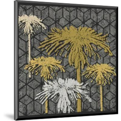 Dandelion on Tumbling Blocks (Yellow)-Susan Clickner-Mounted Giclee Print