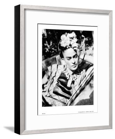 Portrait of Frida Kahlo--Framed Art Print