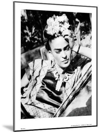 Portrait of Frida Kahlo--Mounted Art Print