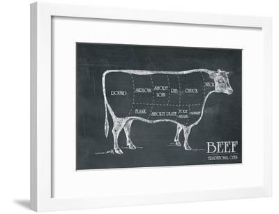 Butcher's Guide III-The Vintage Collection-Framed Art Print