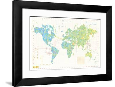 Map Play Giclee Print by Tom Frazier   Art com