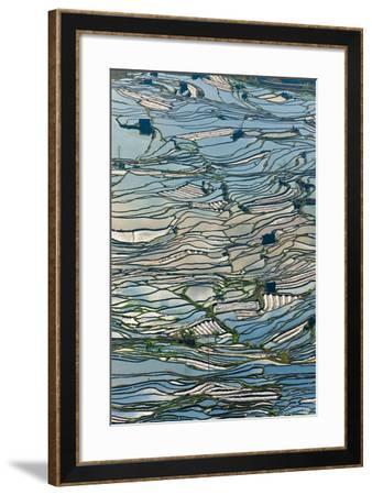 Terrace Reflections II-Peter Adams-Framed Giclee Print