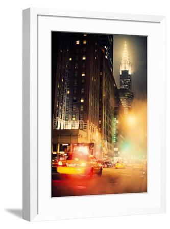 New York Night-Irene Suchocki-Framed Giclee Print