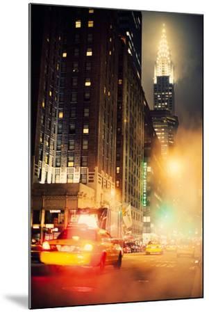 New York Night-Irene Suchocki-Mounted Giclee Print