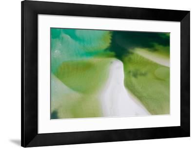 Green Tide I-Peter Adams-Framed Giclee Print