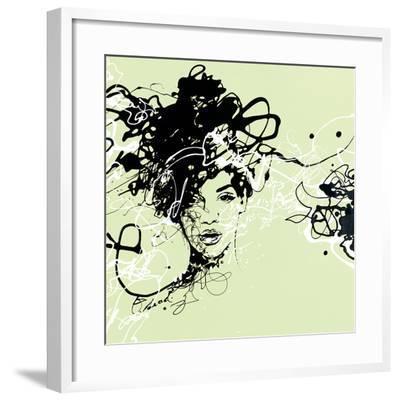 Star I - Detail-Oksana Leadbitter-Framed Giclee Print