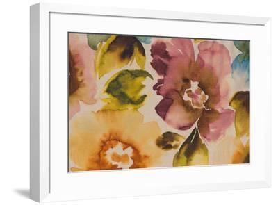 Floral Fusion III-Tanuki-Framed Giclee Print