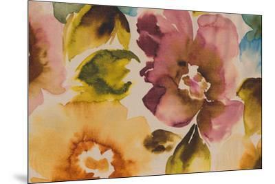 Floral Fusion III-Tanuki-Mounted Giclee Print