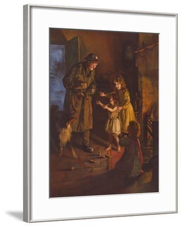 Rescued-Arthur Elsley-Framed Premium Giclee Print