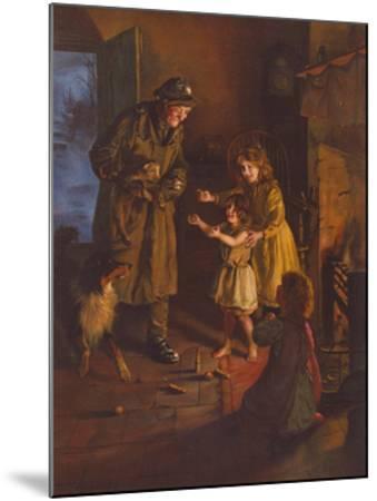 Rescued-Arthur Elsley-Mounted Premium Giclee Print