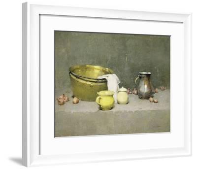 Still Life-Emil Carlsen-Framed Premium Giclee Print