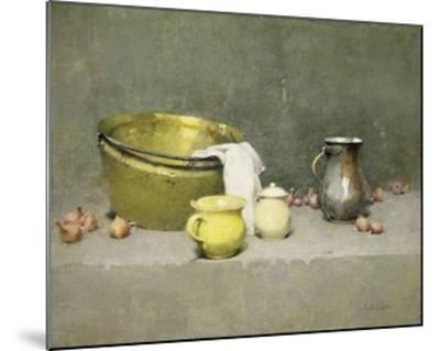 Still Life-Emil Carlsen-Mounted Premium Giclee Print