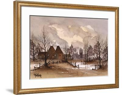 Kent Oast Houses-Ron Folland-Framed Premium Giclee Print