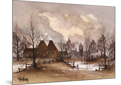 Kent Oast Houses-Ron Folland-Mounted Premium Giclee Print