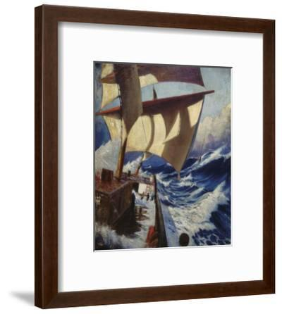 A Deck Scene-Herbert Barnard John Everett-Framed Premium Giclee Print