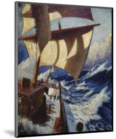 A Deck Scene-Herbert Barnard John Everett-Mounted Premium Giclee Print