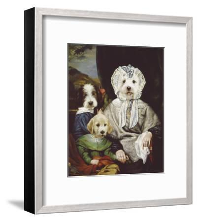 Grandmother's Pride-Thierry Poncelet-Framed Premium Giclee Print