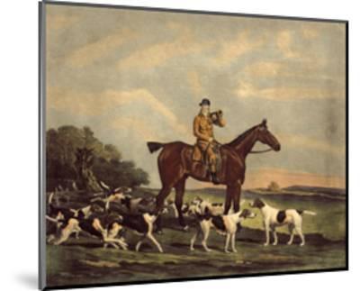 Thomas Oldaker-Benjamin Marshall-Mounted Premium Giclee Print