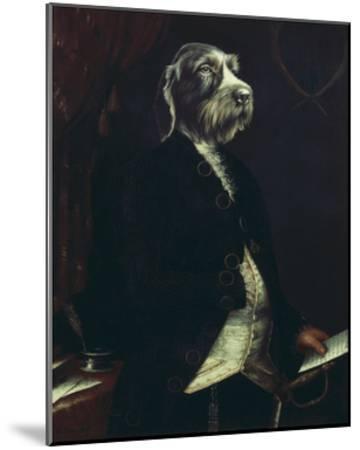 La Missive-Thierry Poncelet-Mounted Premium Giclee Print
