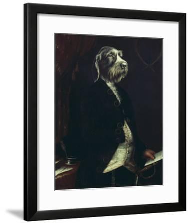 La Missive-Thierry Poncelet-Framed Premium Giclee Print