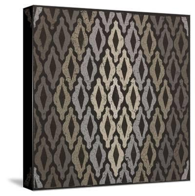 Moroccan Tile with Diamond-Susan Clickner-Stretched Canvas Print