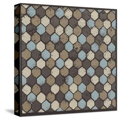 Honeycomb (Blue)-Susan Clickner-Stretched Canvas Print