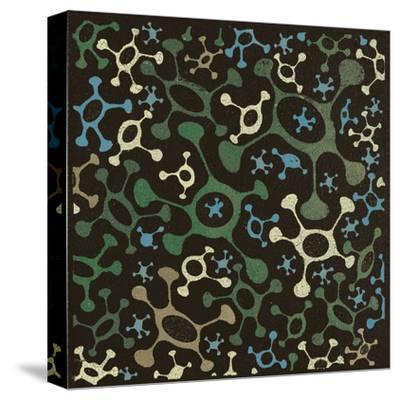 Atomic Friends (Teal)-Susan Clickner-Stretched Canvas Print