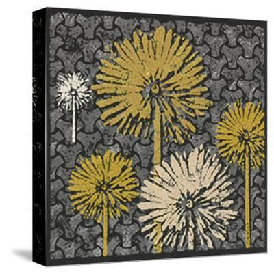 Dandelion on Interwoven Balls (Yellow)-Susan Clickner-Stretched Canvas Print