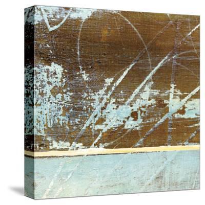 Barn Blue Square I-J^ McKenzie-Stretched Canvas Print