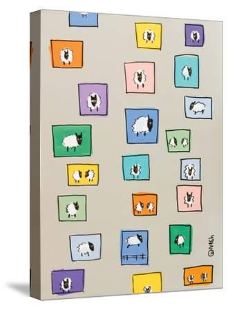 Sheep I-Brian Nash-Stretched Canvas Print