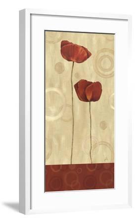 Pop Art Poppies I-Daphne Brissonnet-Framed Giclee Print