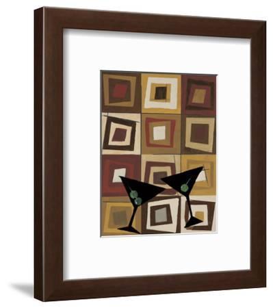 Groovy Martini II-Celeste Peters-Framed Giclee Print