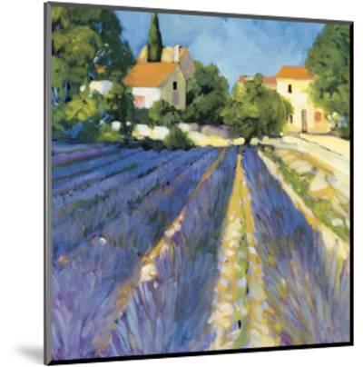 Lavender Fields-Philip Craig-Mounted Giclee Print
