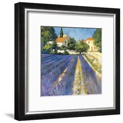 Lavender Fields-Philip Craig-Framed Giclee Print