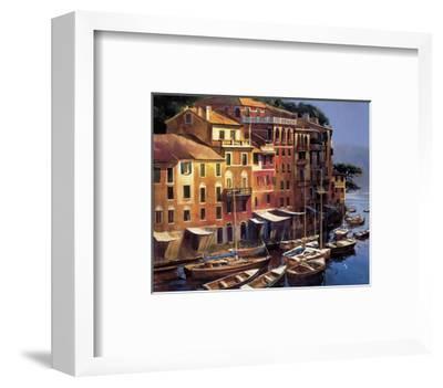 Mediterranean Port-Michael O'Toole-Framed Giclee Print