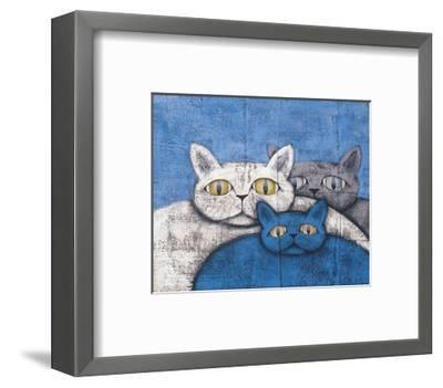 Ice Cats-Kevin Snyder-Framed Giclee Print