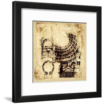 Architectorum II-Paul Panossian-Framed Giclee Print