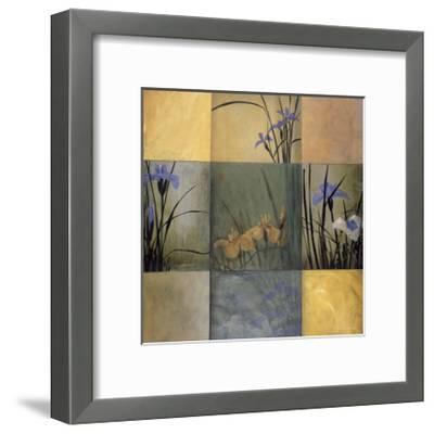 Iris Nine Patch-Don Li-Leger-Framed Giclee Print