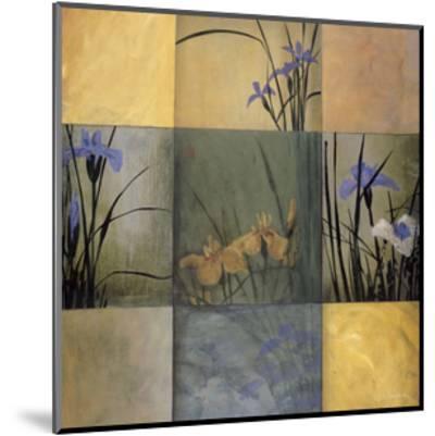Iris Nine Patch-Don Li-Leger-Mounted Giclee Print