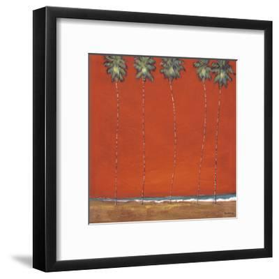Miami Night-Dave Delacruz-Framed Giclee Print