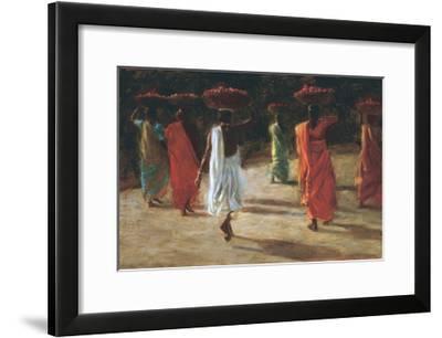 Tomatoes-Leslie Clark-Framed Giclee Print