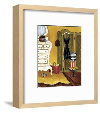 Dressing Room I-Krista Sewell-Framed Giclee Print