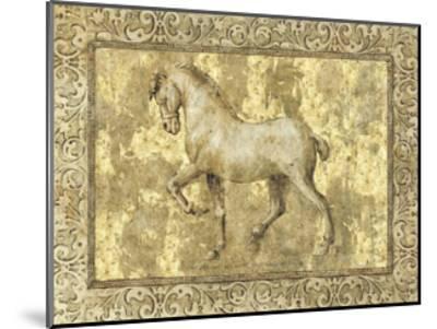 Equine II-Paul Panossian-Mounted Giclee Print