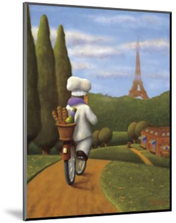 The Road to Paris-Bryan Ubaghs-Mounted Giclee Print