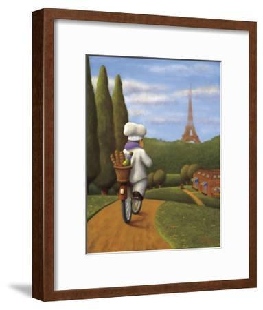 The Road to Paris-Bryan Ubaghs-Framed Giclee Print
