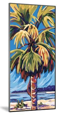 Clearwater Glow in Blue-Sally Evans-Mounted Giclee Print